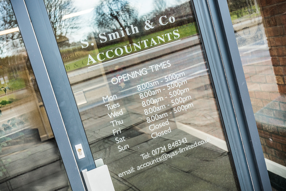 Welcome to S Smith & Co. Accountants New Office